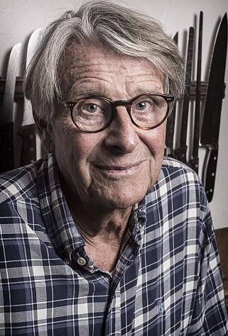 STAMMEREN: Han har stammet hele livet, og mener det er en grusom ironi. Foto: Hans Arne Vedlog  / Dagbladet