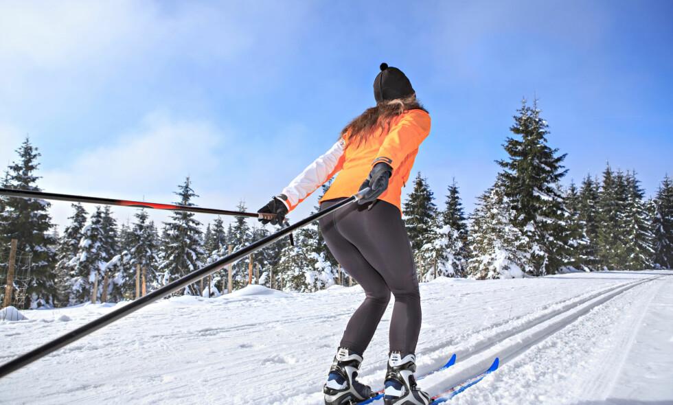 Tåler mer: Om du regelmessig trener styrke med slynge vil kroppen din tåle mer ute i skiløypa. Sjekk ut øvelsene i denne artikkelen. Foto: NTB Scanpix
