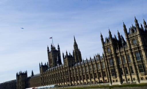 LONDON: Det britiske parlamentet har kjørt gjennom en omstridt lov. Foto: Thomas Rasmus Skaug / Dagbladet
