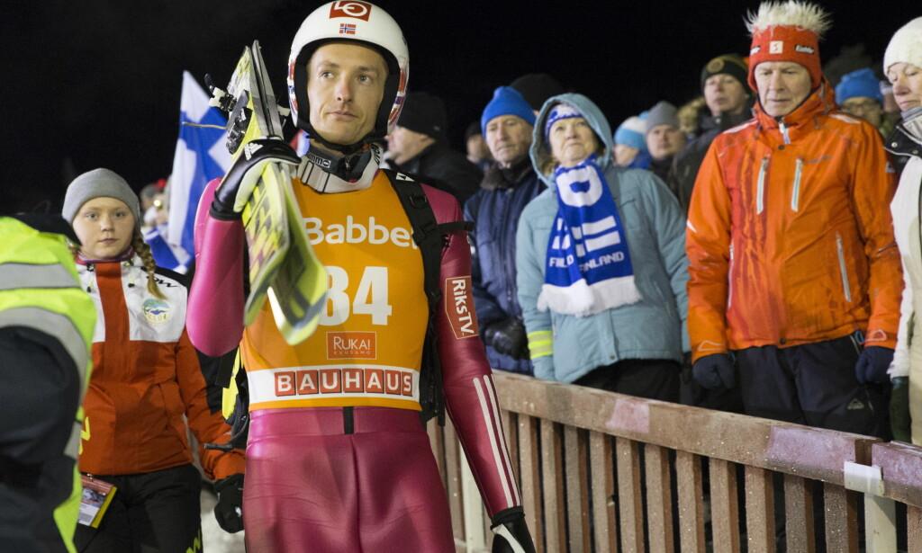 BLE DISKET: Joachim Hauer. Foto: Terje Bendiksby / NTB Scanpix
