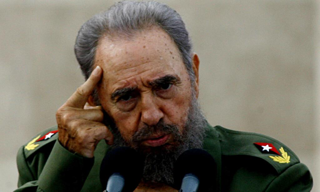 DØD: En av det 20. århundrets mest ikoniske politiske ledere, Fidel Castro, er død. Foto: Javier Galeano/AP/NTB Scanpix