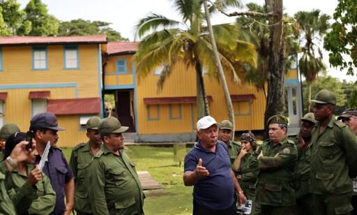 CASTROS HJEM: Her i Birán i Holguin-provinsen øst på Cuba ble Fidel og Raúl Castro født. Gården var en av de første som ble nasjonalisert og overtatt av staten etter revolusjonen i 1959. Bygningen har fungert som museum siden 2002. Foto: Alejandro Ernesto/EPA
