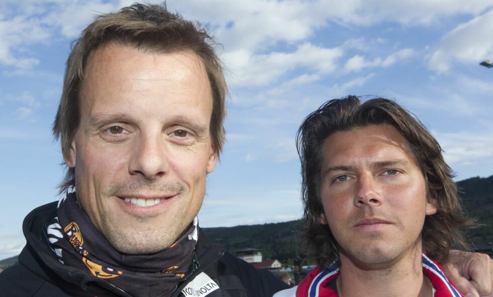 HOVEDTRENER OG ASSISTENT: Alexander Stöckl (t.v.) og Magnus Brevig har vært et team siden 2011. Foto: Terje Bendiksby / NTB Scanpix