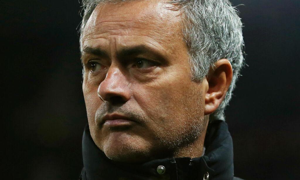 image: Rasende Mourinho sendt på tribunen: - Hodeløst