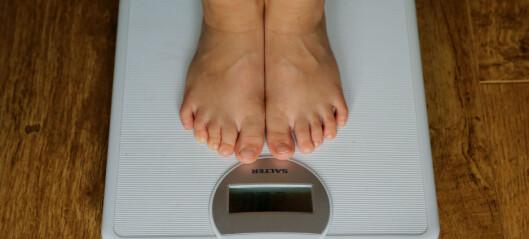 Overvektige tar ut tre ganger så mange sykedager