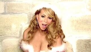 All I Want For Christmas - Is Cash: Mariah Careys moderne juleklassiker har skaffet henne og medkomponist Walter Afanasieff hundrevis av millioner kroner i royalties. Foto: NTB Scanpix