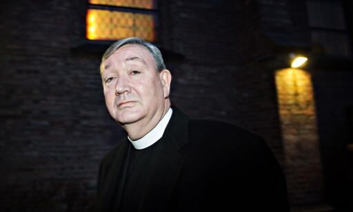 Biskop i Den katolske kirke, Bernt Eidsvig, noterer seg henleggelsen med tilfredshet. Foto: Nina Hansen / Dagbladet