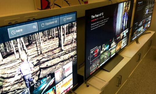 image: Disse TV-ene har rast mange tusen ned i pris