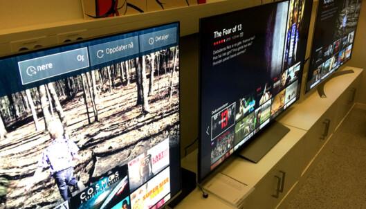 Disse TV-ene har rast mange tusen ned i pris