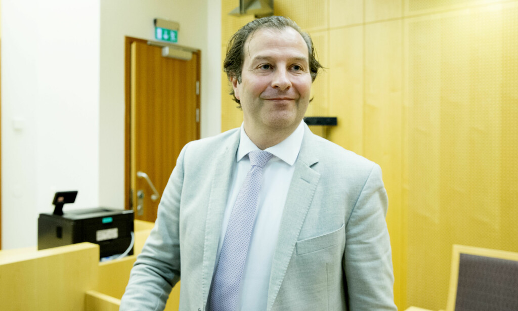 FORSVARER: Anders Brosveet forsvarer økonomisjefen. Foto: Håkon Mosvold Larsen / NTB scanpix