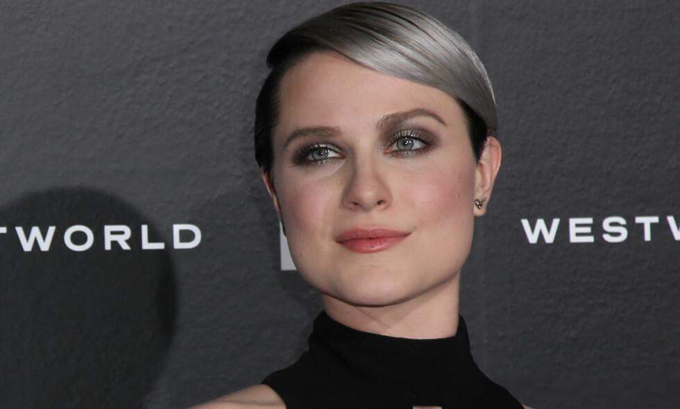 AVSLØRTE VOLDTEKTER: Hollywood-stjernen Evan Rachel Wood sier til bladet Rolling Stone at hun har blitt voldtatt på to forskjellige tidspunkt. Foto: Scanpix.