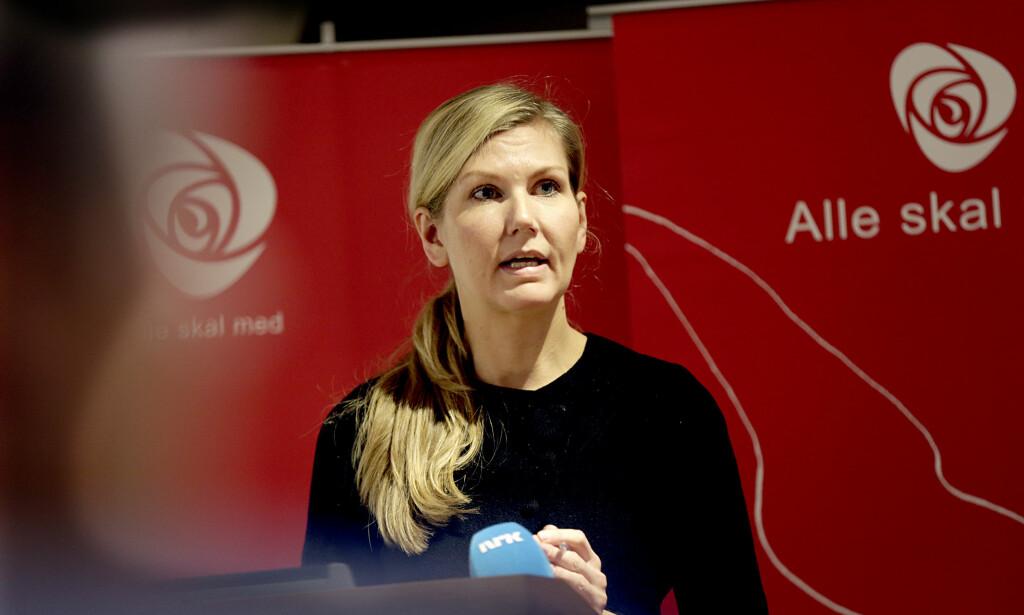 FINANSPOLITISK TALSPERSON: Marianne Martinsen beklager seg over økt bompengenivå, men har selv stemt for samtlige bompengeprosjekter i Stortinget. Foto: Vidar Ruud / NTB scanpix