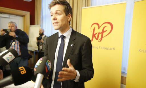 image: Bryter forhandlingene: Knut Arild skuffet over Erna