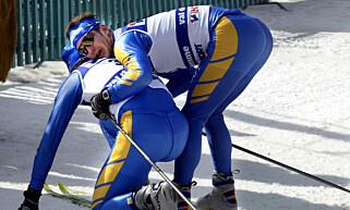 HJERTEFLIMMER: Jörgen Brinks kjente kollaps på stafetten i VM i Val di Fiemme skyldtes også hjerteflimmer. Foto: NTB Scanpix