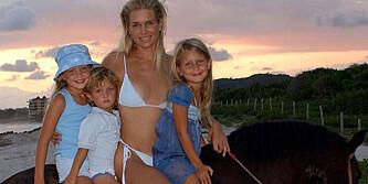 barna hennes er tre av verdens fremste supermodeller