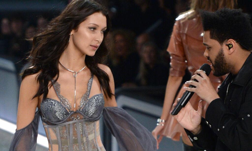 image: Bildene av Bella Hadid og ekskjæresten The Weeknd går verden rundt: - Ikke kleint