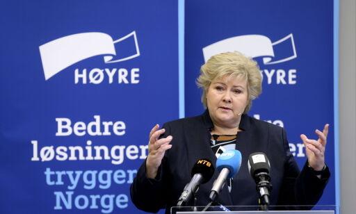 image: Politisk krise og indre gjæring kan true Erna Solbergs lederskap