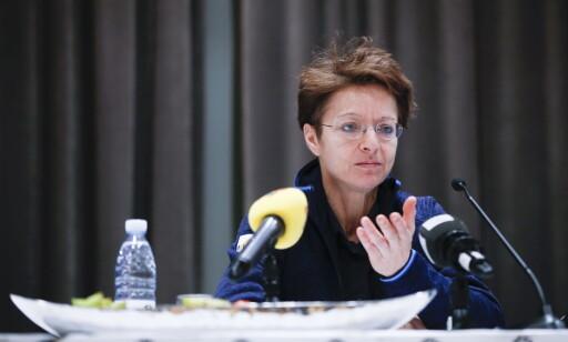 LETTER LITT PÅ SLØRET: FIS og generalssekretær Sarah Lewis sier de ikke anker saker der reglene er fulgt. Foto: Terje Pedersen / NTB Scanpix