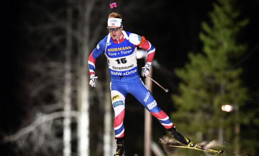 NUMMER TO: Johannes Thingnes Bø imponerte i Sverige. Foto: Scanpix