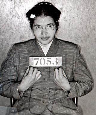 ARRESTERT: Dette bildet ble tatt da hun ble arrestert. Foto: AP Photo / NTB Scanpix