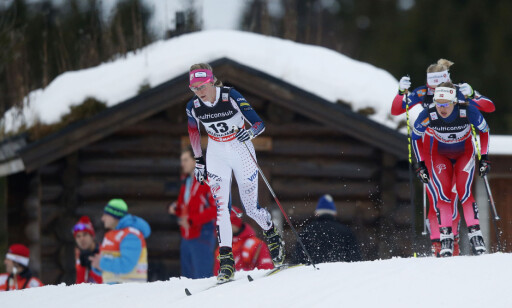 BEST I PROLOGEN: Sadie Bjornsen vant sin andre sprintprolog i karrieren. Foto: NTB Scanpix
