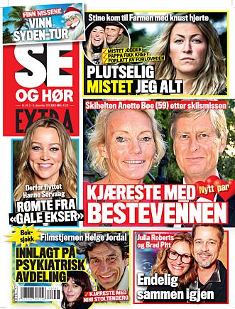 <strong>I SALG NÅ:</strong> I nyeste nummer av Se og Hør Extra kan du lese mer om «Farmen»-Stine. Faksimile: Se og Hør.