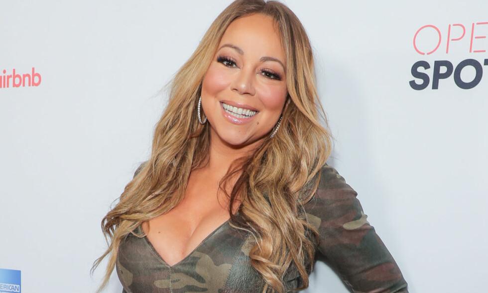 DIVA: Mariah Carey beskyldes nok en gang for å være en selvopptatt diva. Foto: Scanpix