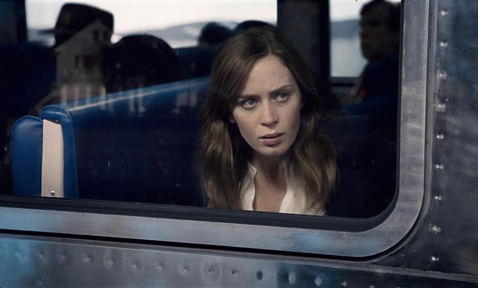 UREDD: Emily Blunt som upålitelig amatørdetektiv i «The Girl on the Train».