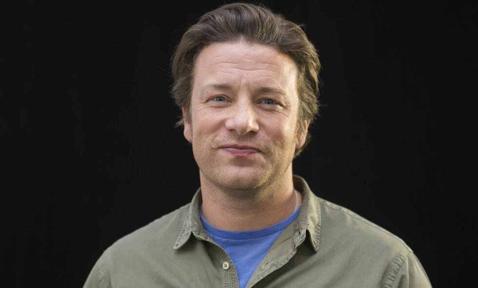 FULLT HUS: Det er kun tre måneder siden Jamie Oliver ble pappa for femte gang. Foto: Arthur Mola / INVISION
