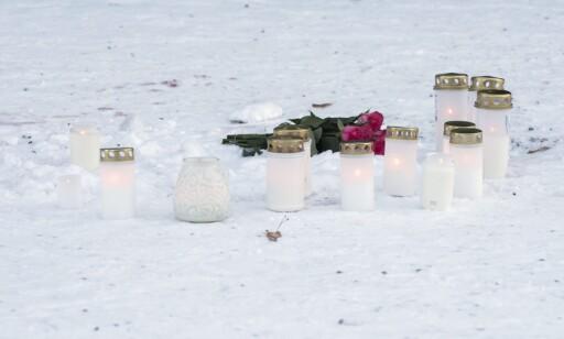 DRAP: Tre kvinner ble i natt drept utenfor en restaurant i den finske byen Imatra. Foto: AFP / NTB Scanpix
