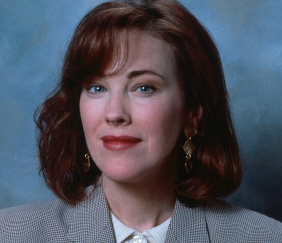 I 1990: Catherine O'Hara slik hun så ut da «Alene hjemme» ble spilt inn for over 25 år siden. Foto: Sipa USA / NTB Scanpix