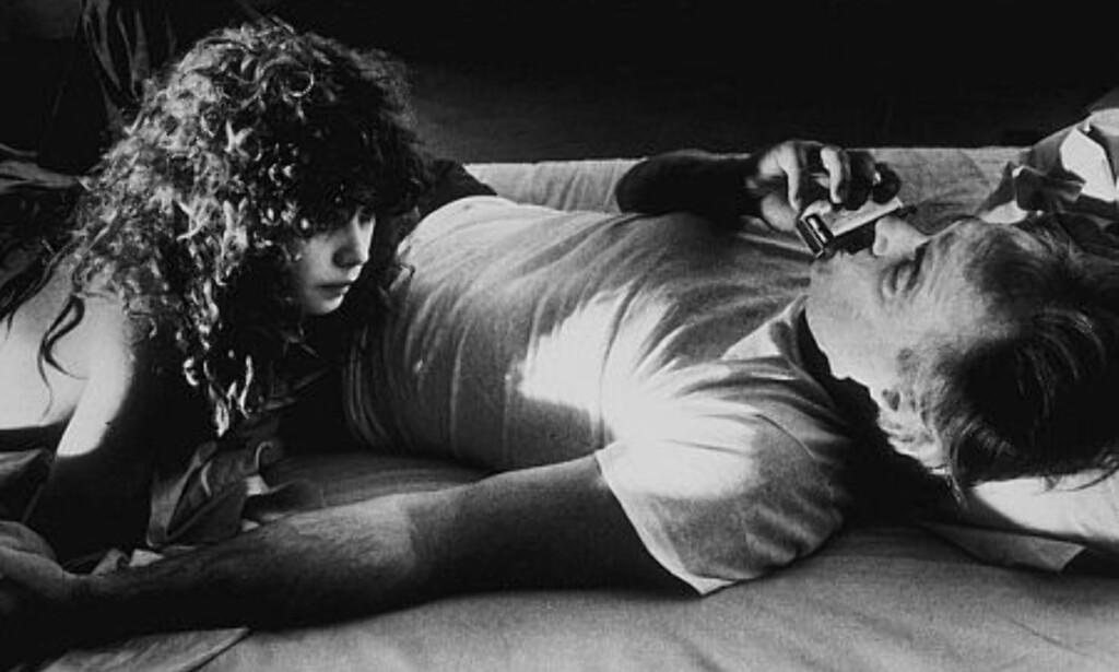 FILMSEX: Marlon Brando og Maria Schneider hadde hovedrollene i «Siste tango i Paris». Nå skaper voldtektscenen rabalder, 44 år etter at filmen hade premiere. Foto:  Dagbladets bildearkiv