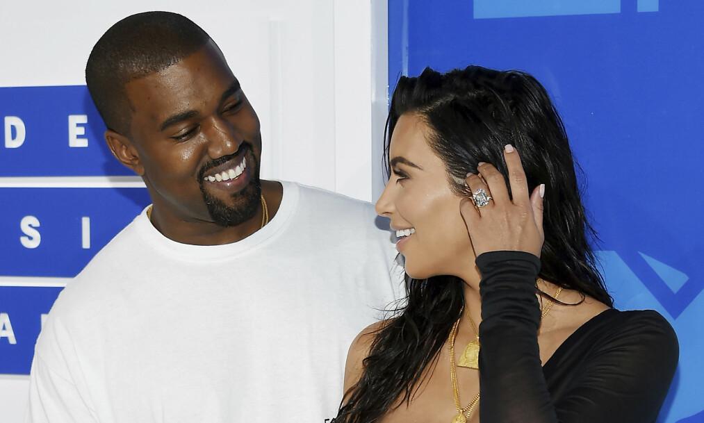 TØFF TID: De siste månedene har vært alt annet enn enkle for ekteparet Kim Kardashian og Kanye West. Foto: NTB scanpix