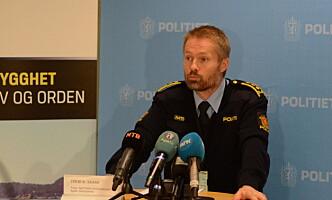 <strong>BER OM TIPS:</strong> Sjef for Felles kriminalenhet i Agder politidistrikt, Terje Kaddeberg Skaar. Foto: Ådne Husby Sandnes / Dagbladet