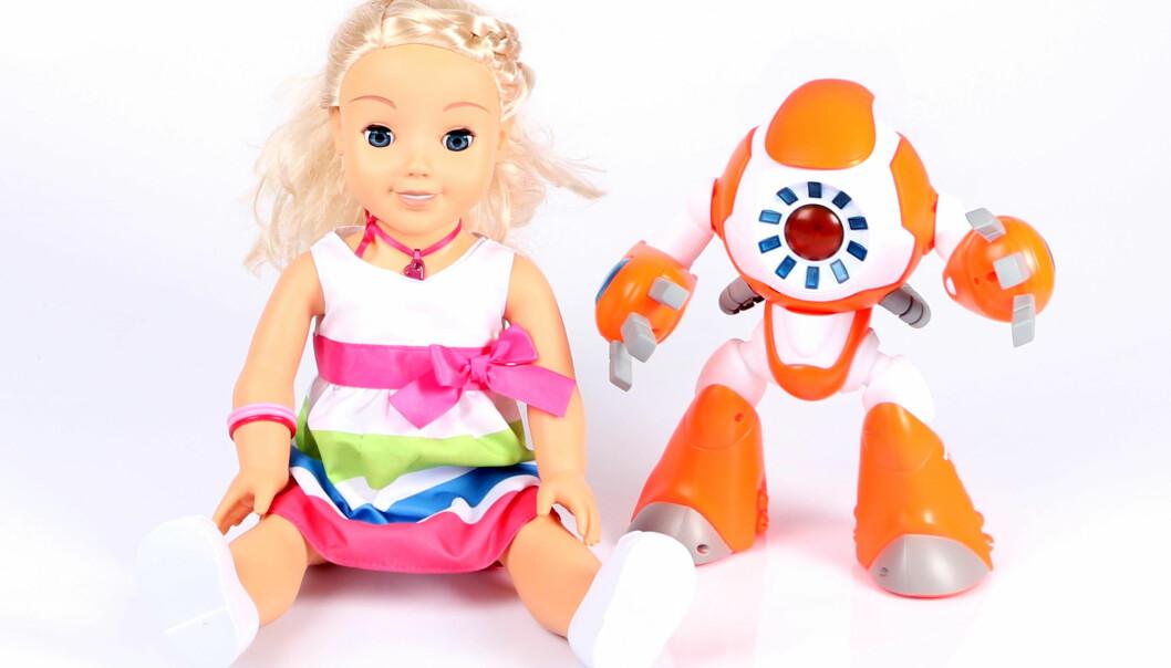 MY FRIEND CAYLA OG I-QUE: Tenk deg om før du kjøper disse to lekene til barnet ditt, er oppfordringen fra Forbrukerrådet. Foto: Forbrukerrådet