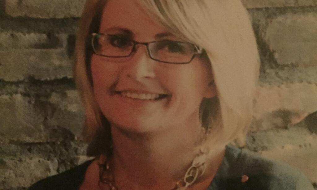 DREPT: Tone Ilebekk (48) ble drept i dobbeltdrapet i Kristiansand mandag. Familien tror hun var et tilfeldig offer. Foto: Politiet / NTB scanpix