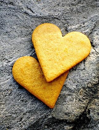 KRYDDER: Pepperkaker får sin deilige smak fra både ingefær, nellik og kardemomme. Pepperen er det ikke så nøye med. Prøv gjerne med blåost. Bare pass på å ta osten ut av kjøleskapet i god tid. Pepperkakene er ofte sprøere enn kjeks, og da kan de knuse når osten skal smøres utover. Foto: NINA RUUD