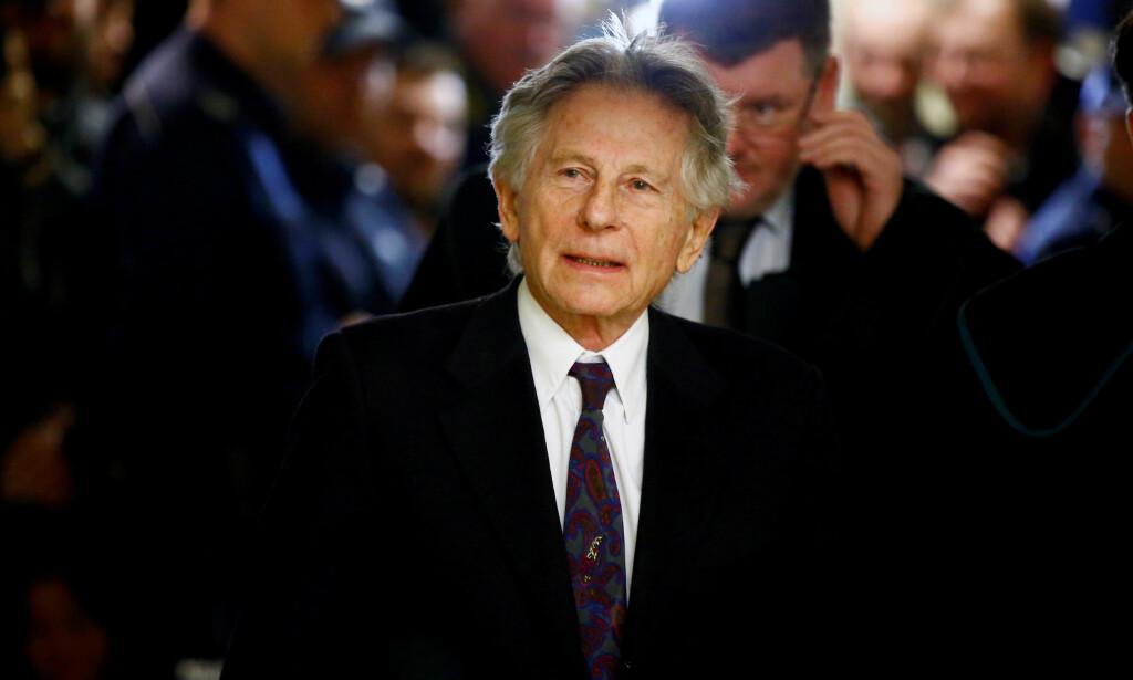 I RETTEN: Filmregissør Roman Polanski under en høring i Krakow i februar 2015. Foto: Reuters