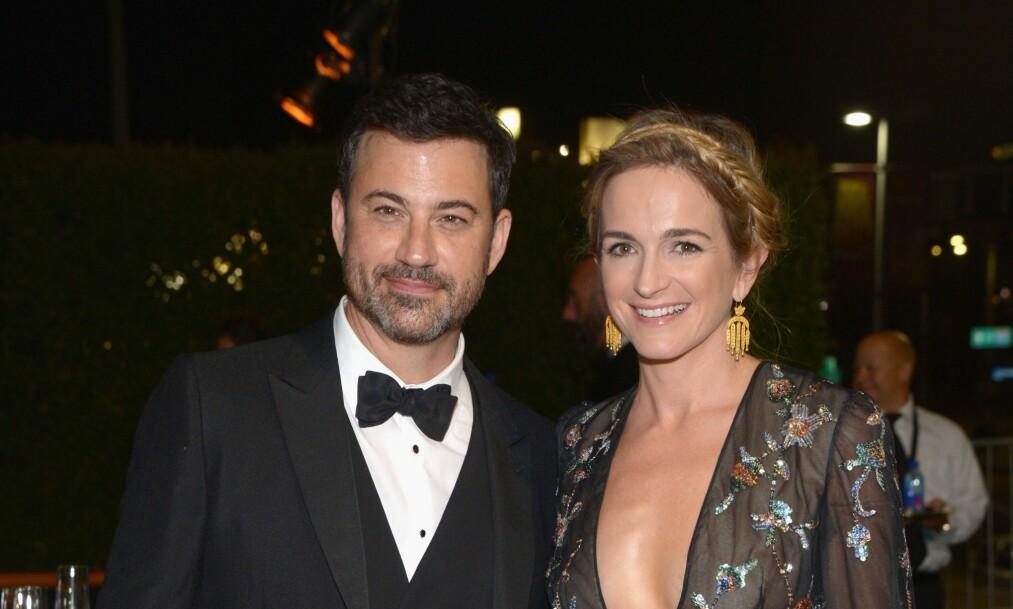 BLIR FORELDRE IGJEN: Jimmy Kimmel og Molly McNearney er i lykkelige omstendigheter. Foto: NTB Scanpix.