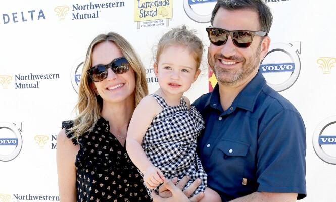 BLIR STORESØSTER: Paret har vært sammen siden 2009 og falt for hverandre på jobben. Molly jobber nemlig som manusforfatter på Jimmy Kimmel Live! Foto: NTB Scanpix.
