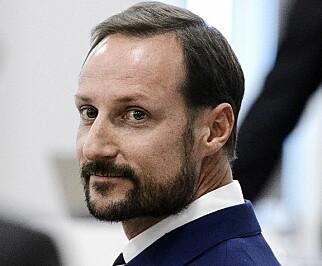 VIL HA ÅPENHET: Kronprins Haakon er overrasket når Dagbladet forklarer at det er mer åpenhet om hans far enn ham selv. Foto: John T. Pedersen / Dagbladet