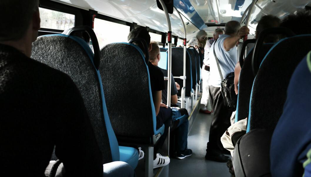 <strong>BRA STANDARD:</strong> Buss er absolutt et godkjent transportmiddel på Gran Canaria. Foto: Ole Petter Baugerød Stokke