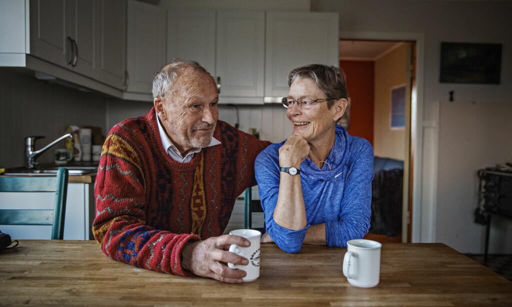 NOMINERT TIL ÅRETS NAVN: Per Fugelli og kona Charlotte i Lofoten. Nå er Fugelli nominert til Årets navn. Foto: Jørn H Moen / Dagbladet