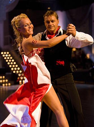 UTFORDRER SEG SELV: Dag Otto har flere ganger utfordret seg selv på TV, og har blant annet vært med i «Skal vi danse». Foto: Tor Lindseth, Se og Hør.