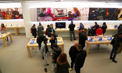 JULESHOPPING: Apple-produkter er billigere i London enn i Oslo.
