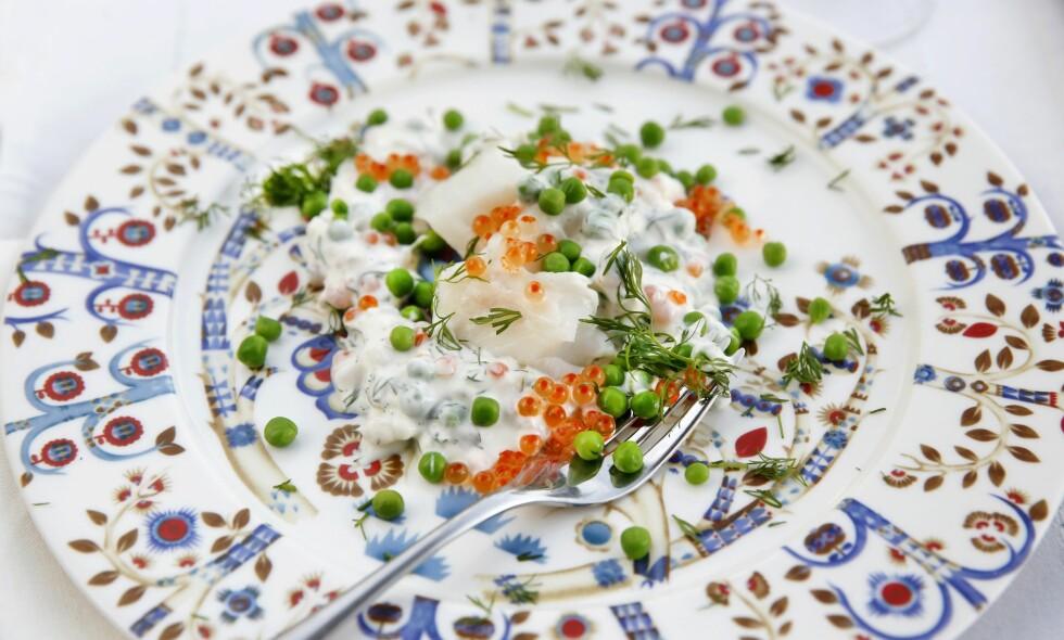 PERSETORSK: Juletorsken, slik den ble spist i finere kretser i Bergen i gamle dager.