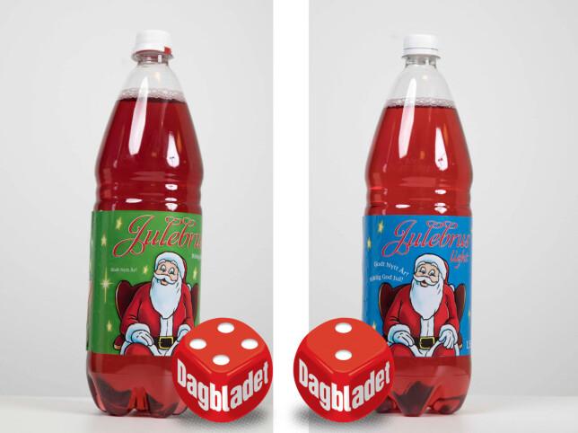 Norgesgruppens egne merkevare er intet dumt valg om du vil ha rød julebrus - med sukker.