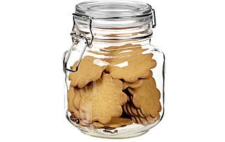 NAM: Hjemmelagde pepperkaker i en fin krukke blir en flott gave til jul.