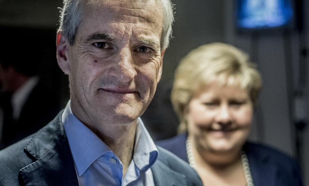 TROR PÅ STØRE: 47 prosent av de spurte i Nationens meningsmåling svarer at de tror Jonas Gahr Støre blir statsminister i 2017. Foto: Thomas Rasmus Skaug / Dagbladet