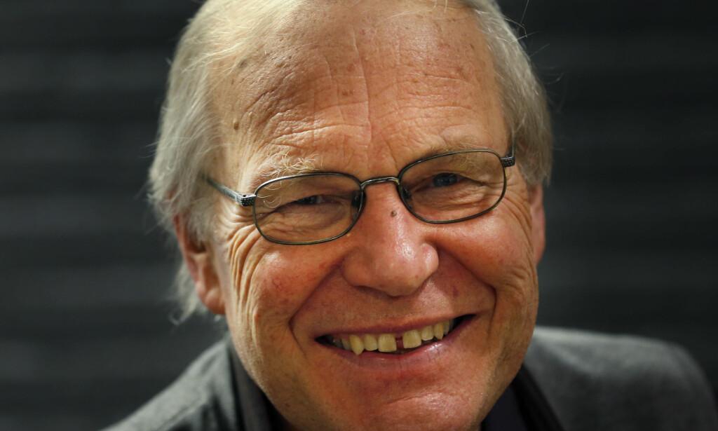 EKSPERT: Den gamle NRK-kommentatoren Arne Scheie kan ikke huske at både United og City har tapt fire hjemmekamper på rad i samme tidsperiode. Foto: NTB scanpix